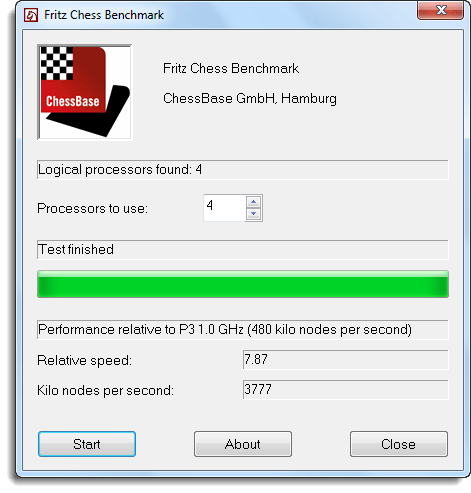 Measure Your Computer's Power with Fritz Chess Benchmark