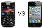 iPhone vs. BlackBerry