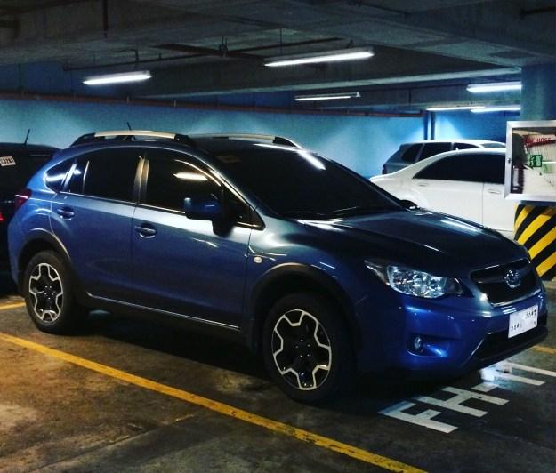 Liana is my Subaru XV