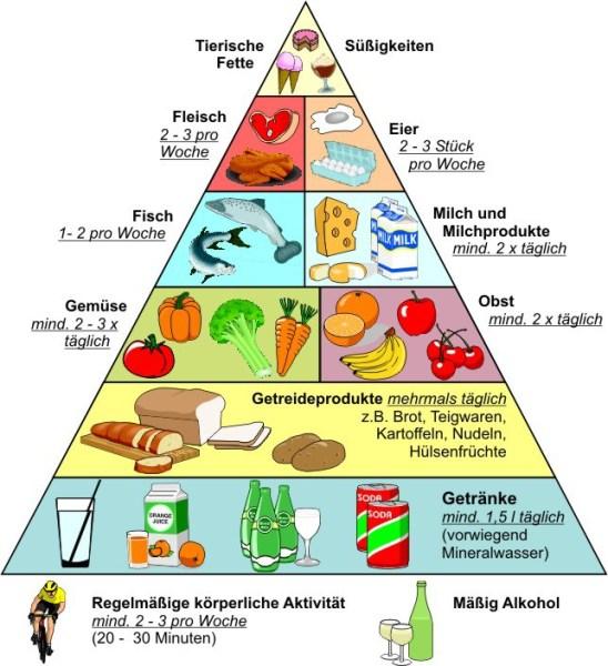 ernc3a4hrungs pyramide 1 274x300 - Gesund Essen