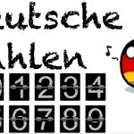 Deutsche Zahlen