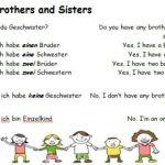Hast du Geschwister?