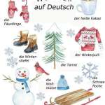 WINTER AUF DEUTSCH