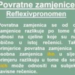 Povratne zamjenice -REFLEXIVPRONOMEN