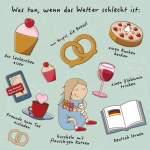 Was tun, wenn das Wetter schlecht ist