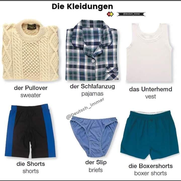 Die Kleidungen