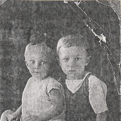 Eduard und Lidia, Kinder von Waldemar Rolloff