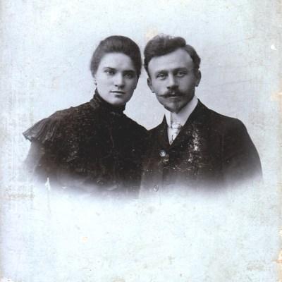 Lydia Rolloff und Ehemann ... Schulz