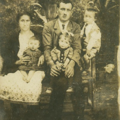 Alwina und Ernst Plieninger mit Kindern