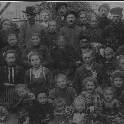 1910, Familie Johannes Schall