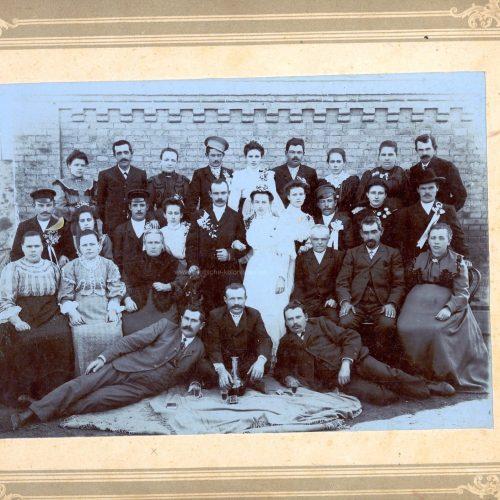 Hochzeit Johannes Storz 1910