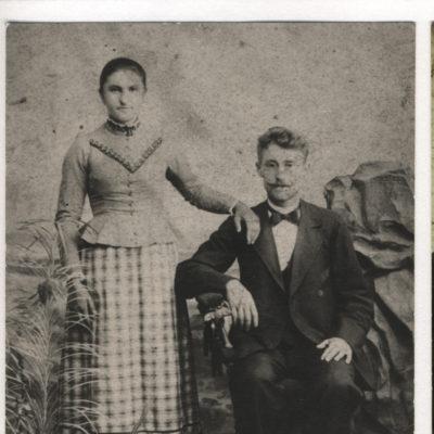 Sophie Baitinger und Ehemann Emanuel Schall