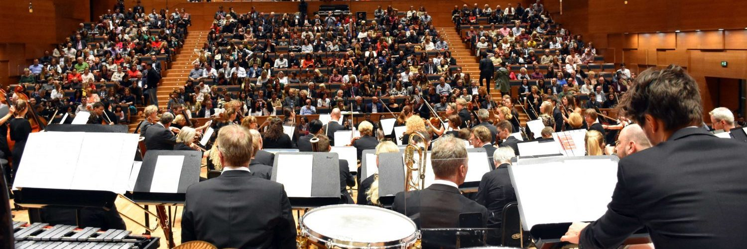 DRP auf Tournee in Mazedonien: in der Philharmonie in Skopje