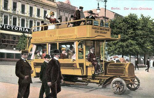 Berlin - Auto-Omnibus