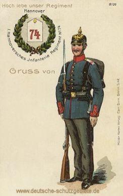 1. Hannoversches Infanterie Regiment No. 74