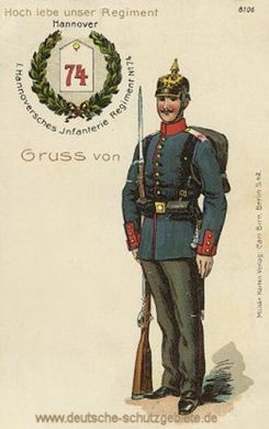 1. Hannoversches Infanterie Regiment No. 74