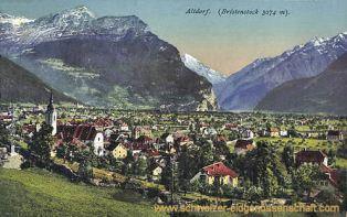 Altdorf (Bristenstock 3074 m)