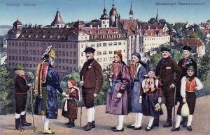 Altenburg, Herzogliches Schloss - Altenburger Bauerntrachten