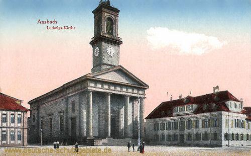 Ansbach, Ludwigs-Kirche