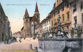 Ansbach, Oberer Markt mit St. Johanniskirche