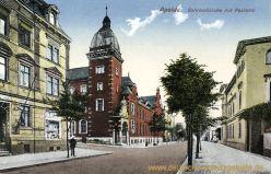 Apolda, Bahnhofstraße mit Postamt