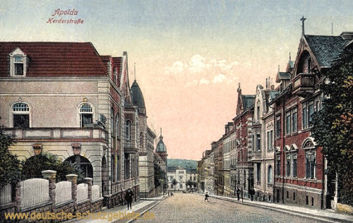Apolda, Herderstraße