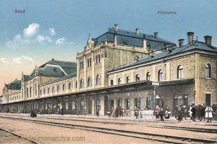 Arad, Pályaudvar (Bahnhof)