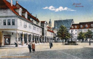Arnstadt, Marktplatz
