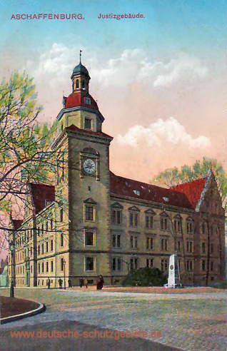 Aschaffenburg, Justizgebäude
