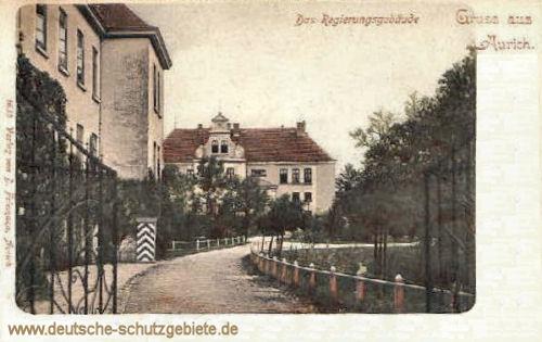 Aurich, Regierungsgebäude