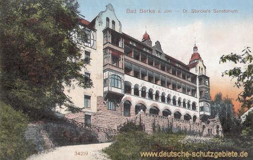 Bad Berka, Dr. Starcke's Sanatorium