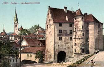 Baden, Landvogteischloss