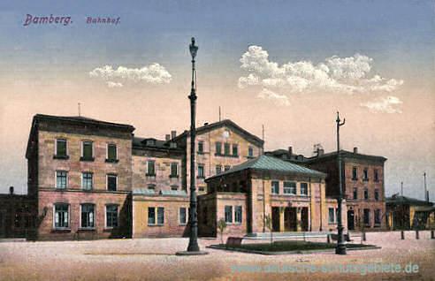 Bamberg, Bahnhof