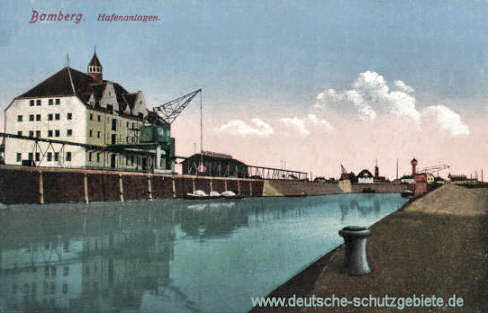 Bamberg, Hafenanlagen