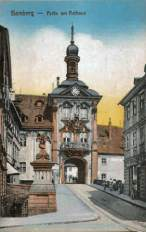 Bamberg, Rathaus