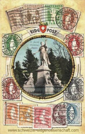 Basel, St. Jacob-Denkmal