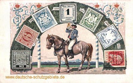 Bayern, Briefmarken