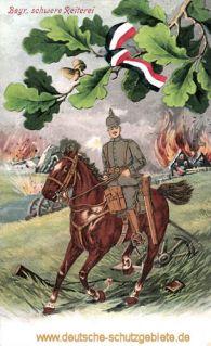 Bayerische schwere Reiterei