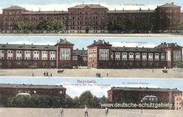 Bayreuth, Kasernen des 7. Inf. Reg. Prinz Leopold