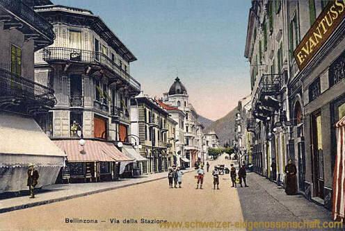 Bellinzona, Via della Stazione