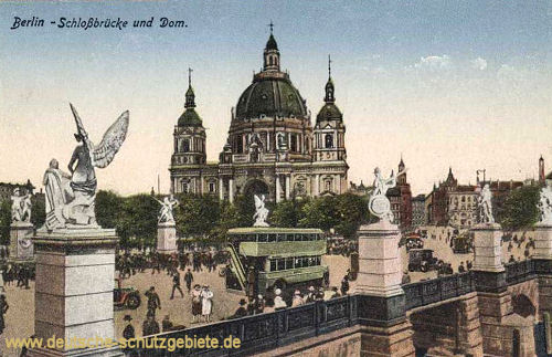 Berlin, Schlossbrücke und Dom