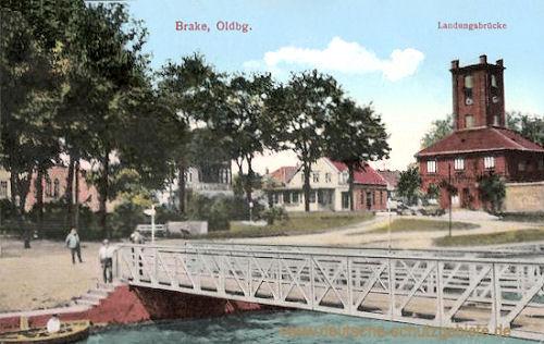Brake, Landungsbrücke