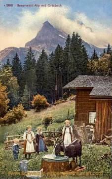 Braunwald-Alp mit Ortstock