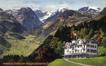 Braunwald, Hotel Niederschlacht mit Tödl