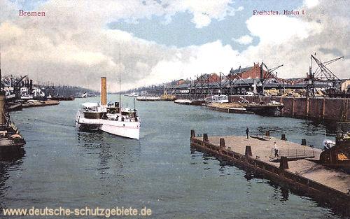 Bremen, Freihafen I