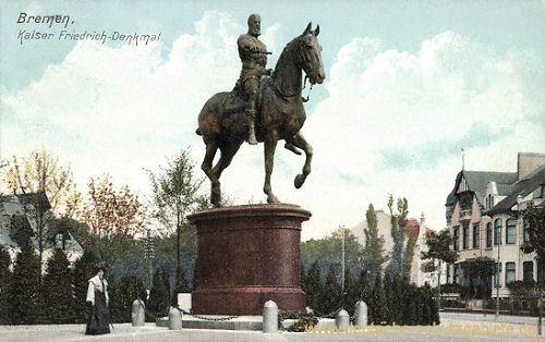 Bremen, Kaiser Friedrich-Denkmal
