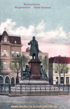 Bremerhaven, Bürgermeister Smidt-Denkmal