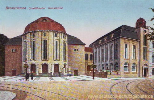 Bremerhaven, Stadttheater, Kunsthalle