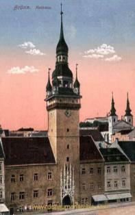 Brünn, Rathaus
