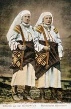 Bukowina, Rumänische Bäuerinnen